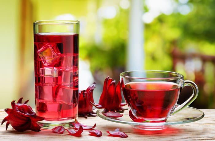 Chá de hibisco e os seus benefícios