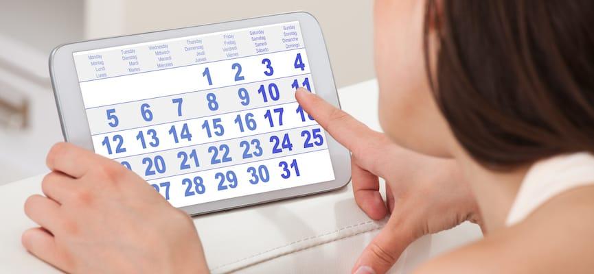 Menstruação adiantada será um problema? 1