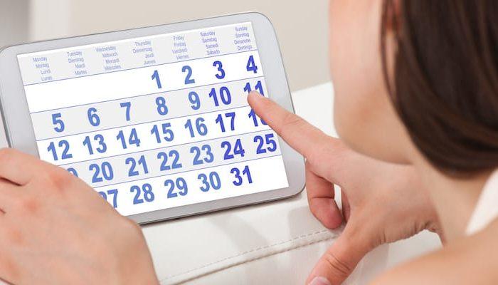 Menstruação adiantada será um problema?